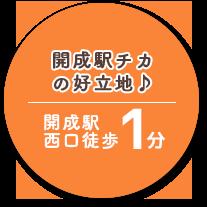 開成町駅チカの好立地♪ 開成町駅 西口徒歩1分
